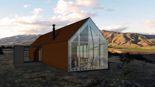 Queensberry Hut Assembly Architects Queenstown